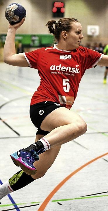 Ist ebenso wie ihre Teamkolleginnen im Derby wieder fit:  Angelika Makelko   | Foto: Patrick Seeger