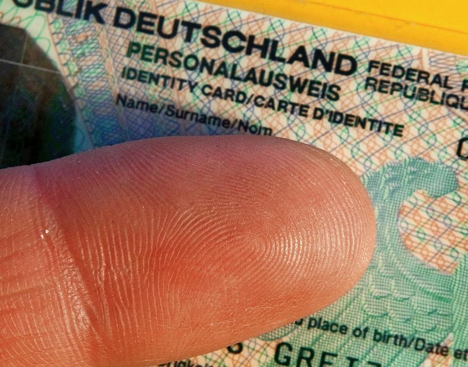 Fingerabdruck Personalausweis Pflicht