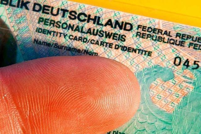 Fingerabdruck im Personalausweis wird Pflicht