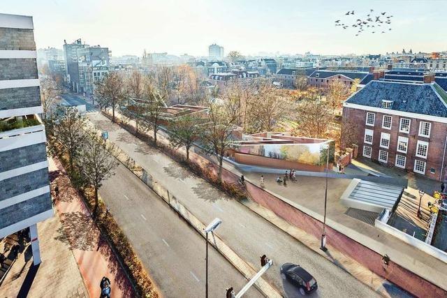 Amsterdamer Anwohner stoppen Holocaust-Mahnmal