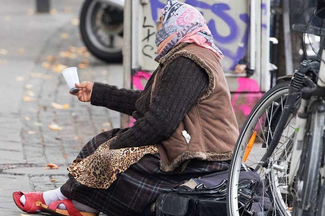 Der Anteil obdachloser Frauen nimmt zu...fach ausgezeichnet wurde (Symbolbild).  | Foto: dpa