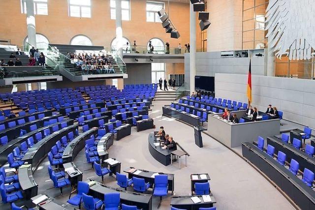 Bundestag will wohl Waffen im Parlament verbieten