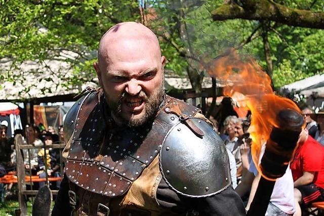 Das Mittelalter-Spektakulum findet am Wochenende in Bad Säckingen statt