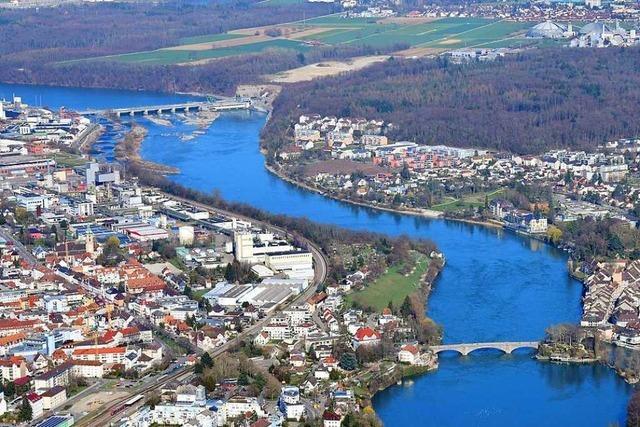 Neuer Rheinfelder Rheinsteg soll 12,6 Millionen kosten