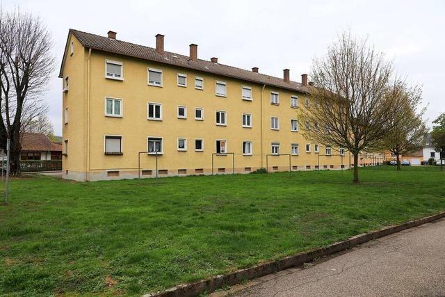 In der Lahrer Flugplatzstraße werden 330 Wohnungen gebaut