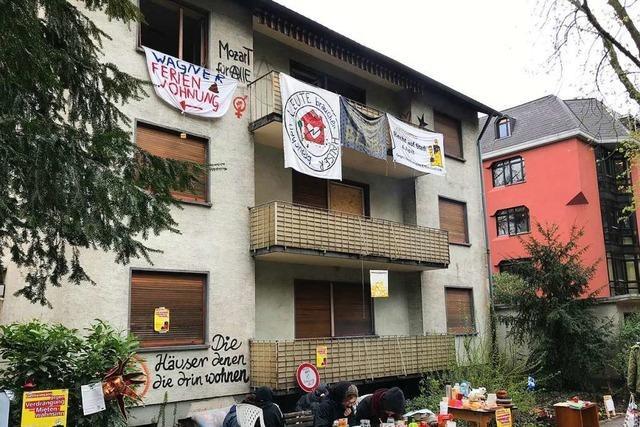 Das Haus an der Mozartstraße war schon wieder besetzt – Wer sind die Aktivisten?
