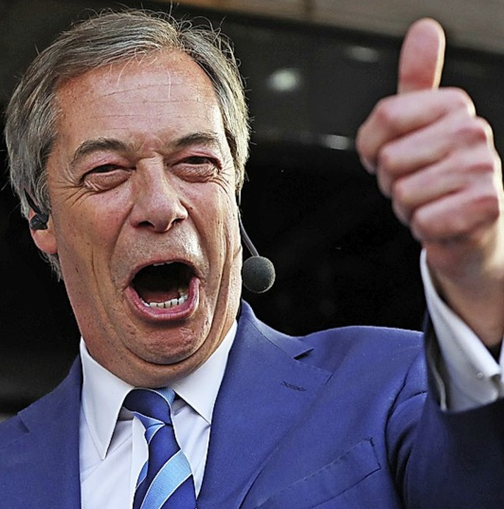 Ukip-Chef Nigel Farage   | Foto: DPA