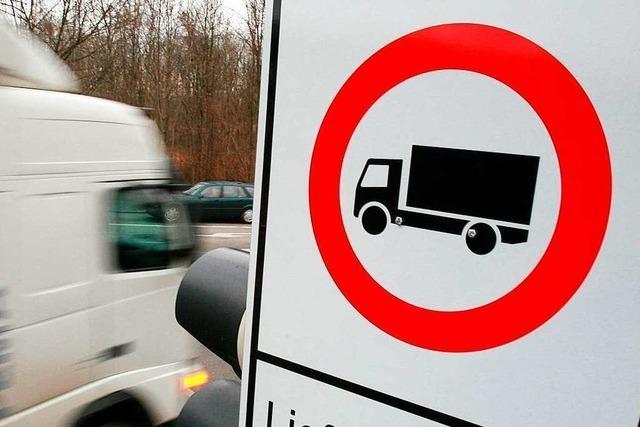 Ein weiterer Dämpfer für ein Lkw-Fahrverbot in Kuhbach und Reichenbach