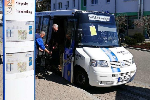 Bürgerbus für Kenzingen ist bestellt