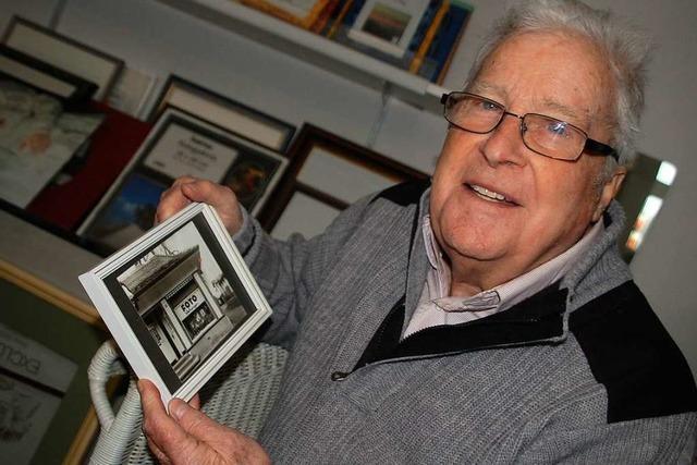 Der Rheinfelder Fotografenmeister Erwin Wehinger wird 90