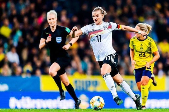 Gelungener WM-Test: DFB-Frauen gewinnen 2:1 in Schweden