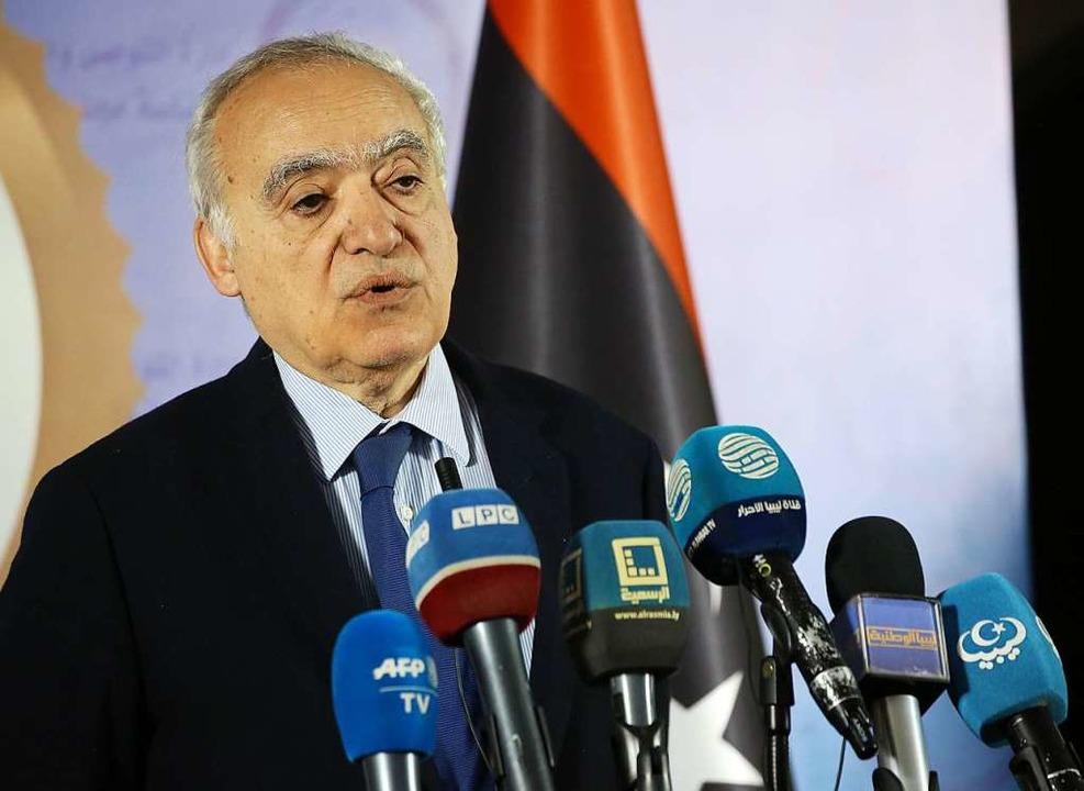Der UN-Sondergesandte für Libyen, Ghassan Salamé    Foto: AFP