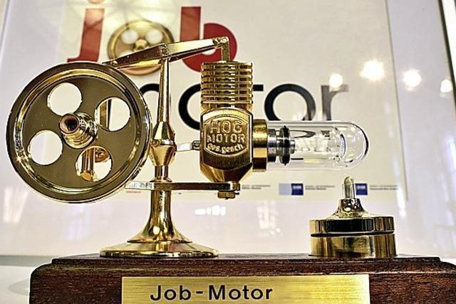 Sieben Jobmotoren gewürdigt