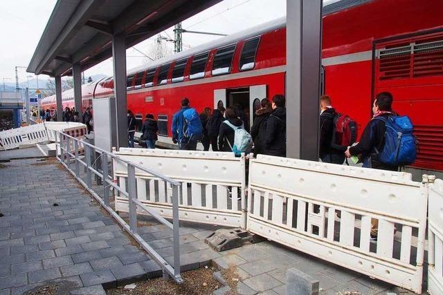 Höllentalbahn: In Kirchzarten reiht sich eine Panne an die andere