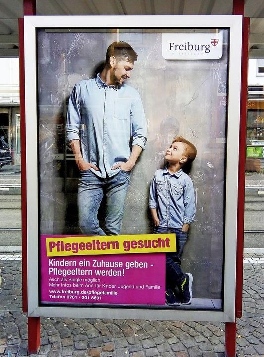 Plakat Pflegeeltern gesucht  | Foto: AKi/KSD