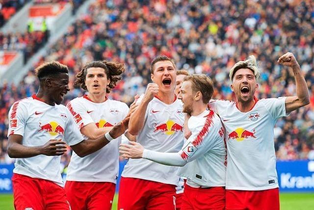 RB Leipzig nimmt klaren Kurs auf die Champions League
