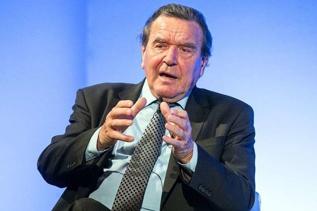 Gerhard Schröder – der Mann mit den vielen Eigenschaften