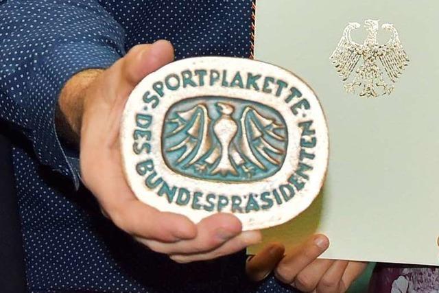 TuS Herten erhält die Sportplakette des Bundespräsidenten