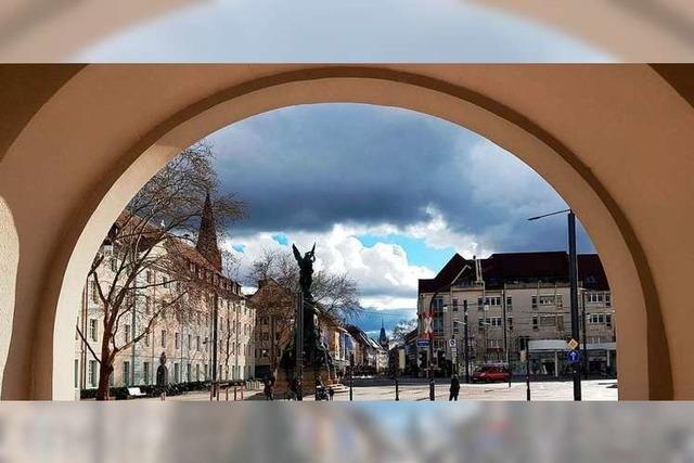 So schön ist der Freiburger Europaplatz ohne die Baustelle