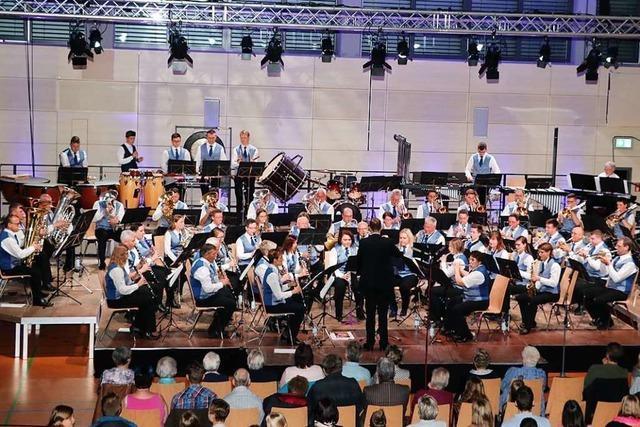 Stadtmusik Bonndorf sorgt für großes Kino