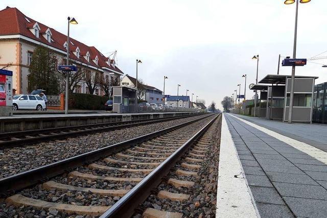 Die Elektrifizierung der Hochrheinstrecke verursacht Kosten in Millionenhöhe