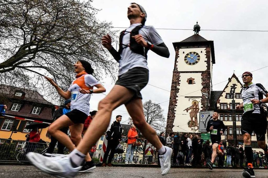 16. Freiburg-Marathon am 7. April 2019 (Foto: Patrick Seeger)