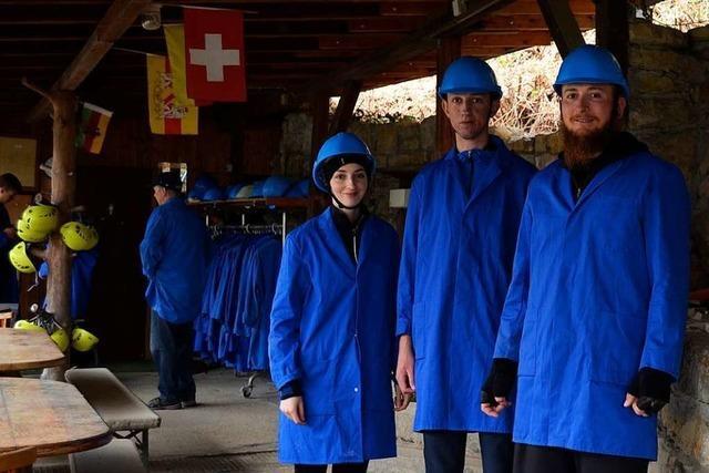 Tschamberhöhle in Rheinfelden ist geöffnet