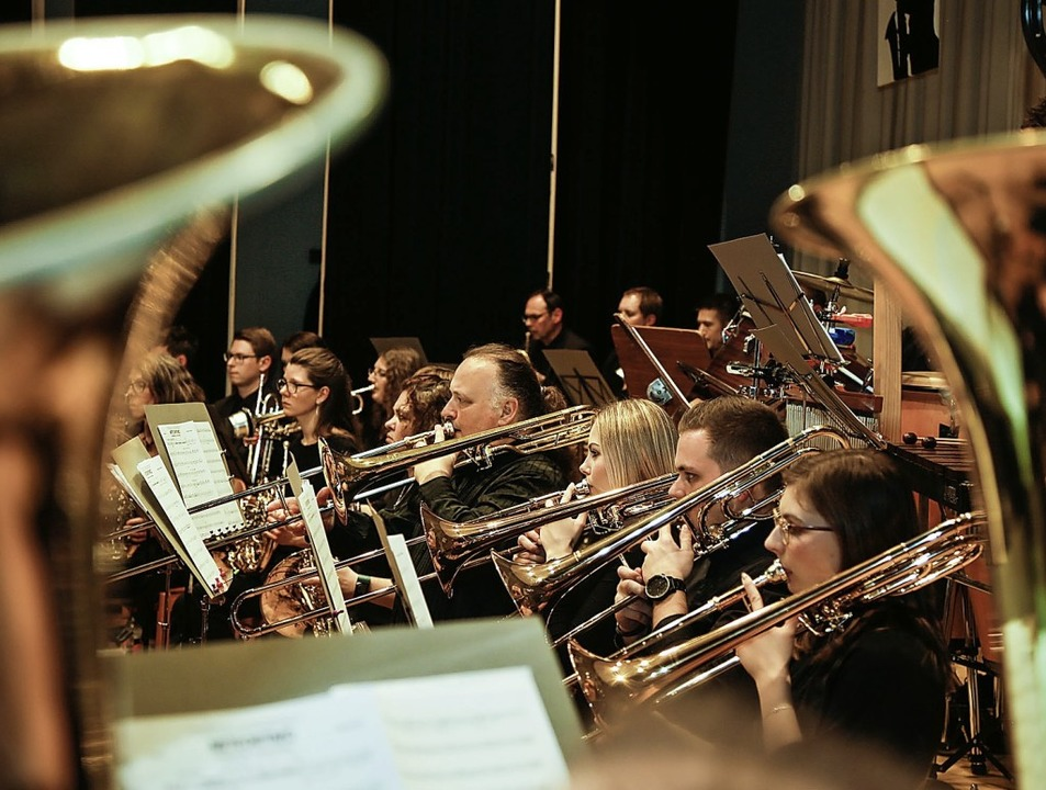 Höchste Konzentration beim Musikverein  | Foto: Sandra Decoux-Kone