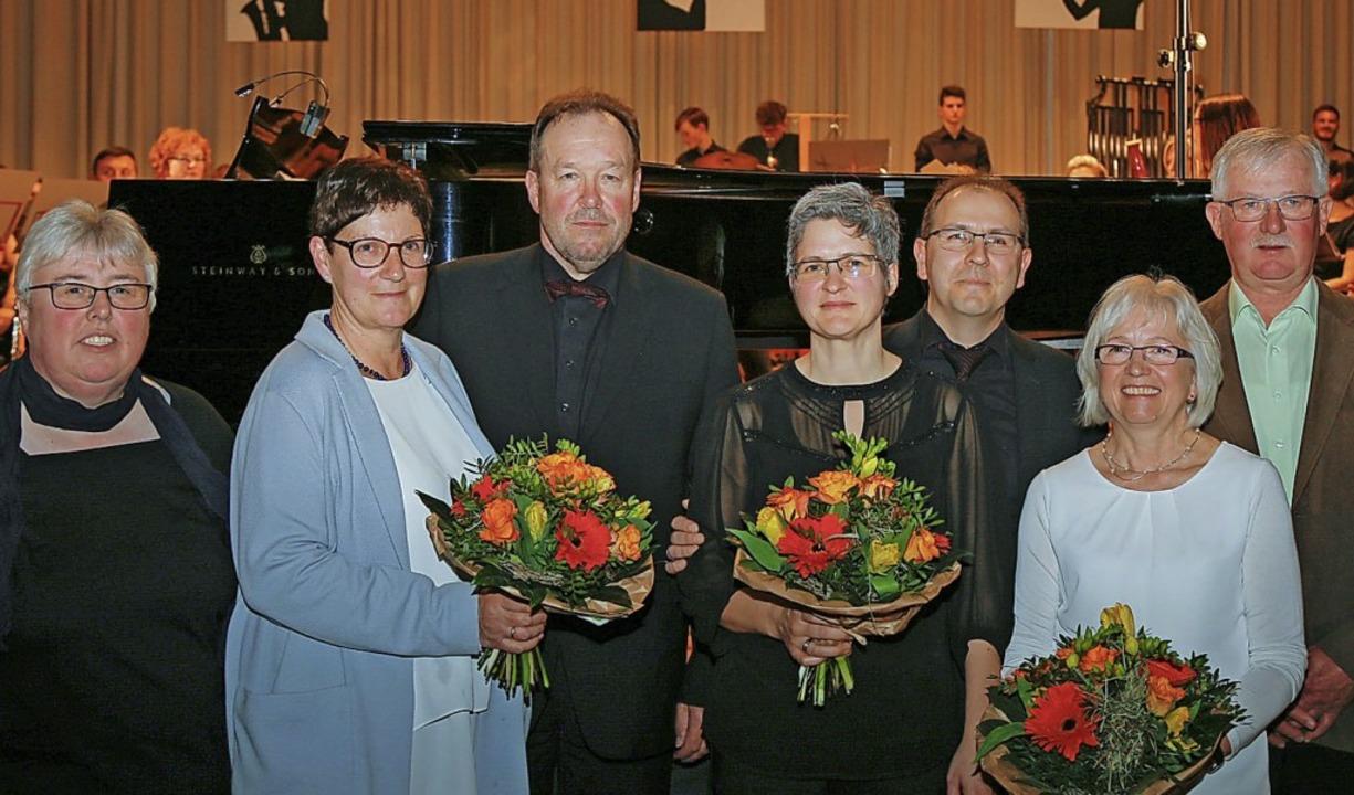 Ehrungen (von links): Tanja Lehmann, E...er, Martina Küntzler, Clemens Küntzler  | Foto: Sandra Decoux-Kone