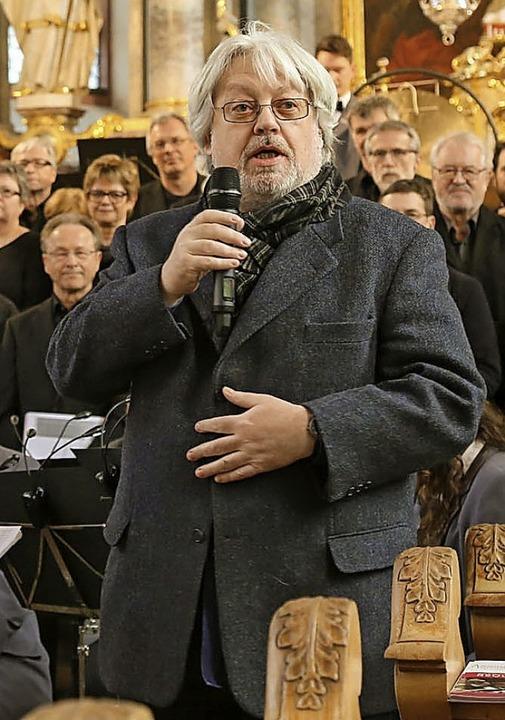 Komponist Rolf Rudin  | Foto: Sandra Decoux-Kone