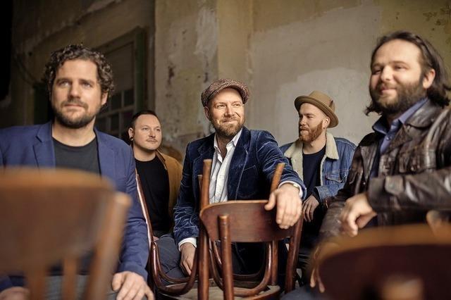 Henrik Freischlader und Band verbinden Blues mit Soul, Funk und Rock