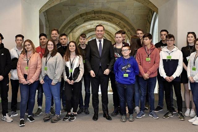 Schüler besuchen Berlin