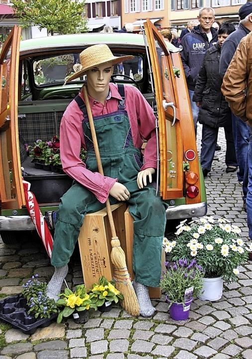 Für jeden Geschmack fand sich etwas am...ntag bei der Aktion Blühendes Staufen.  | Foto: Hans Jürgen Kugler
