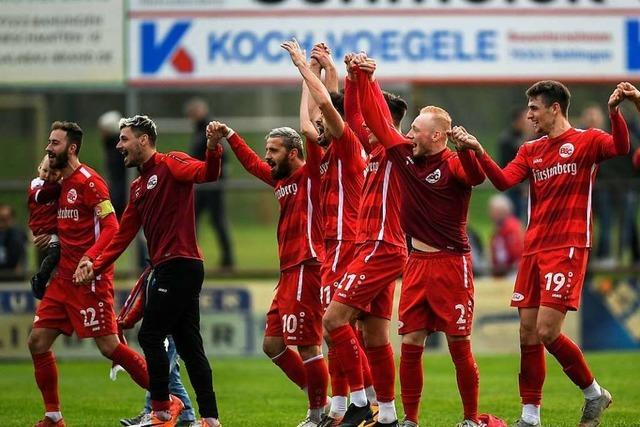 Erfolgsserie ausgebaut – Bahlinger SC bezwingt auch Freiberg