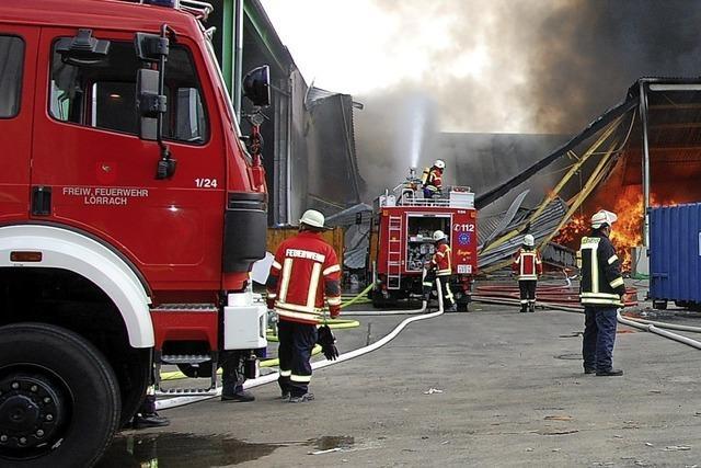 Starkregen und Gewitter halten die Feuerwehr in Atem