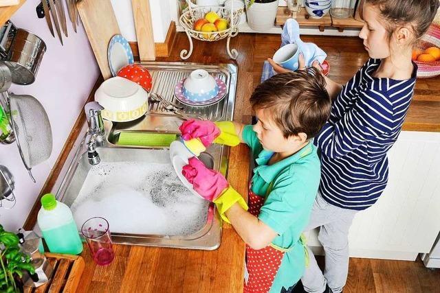 Sollten Kinder für Arbeiten im Haushalt Geld bekommen?