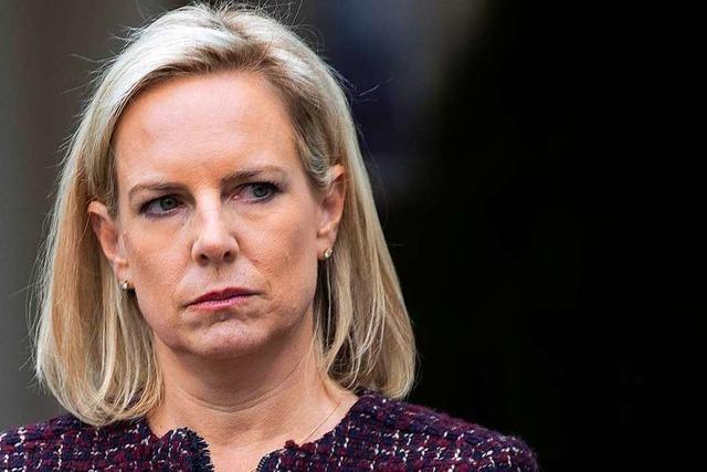 Heimatschutzministerin Nielsen verlässt Trumps Regierung
