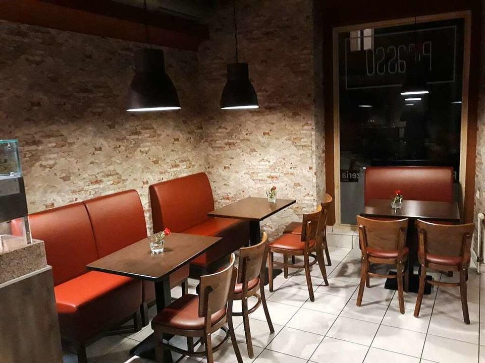 Die Pizzeria Picasso ist neu renoviert.    Foto: Andreas Meinzer