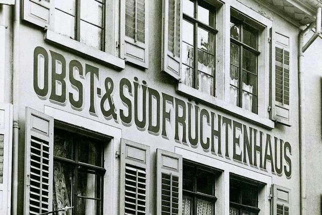 Das Haus in der Rathausgasse 40 war einst als Feinkostladen bekannt