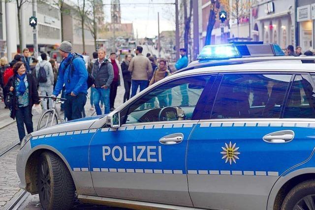 Polizeikontrolle in Freiburger Bertoldstraße war rechtswidrig