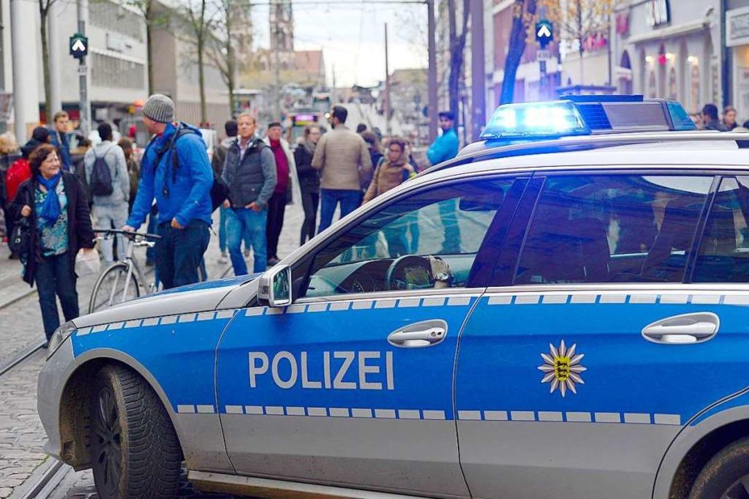 Auf welcher Rechtsgrundlage darf die P...waltungsgerichts Freiburg. Symbolbild.  | Foto: Ingo Schneider