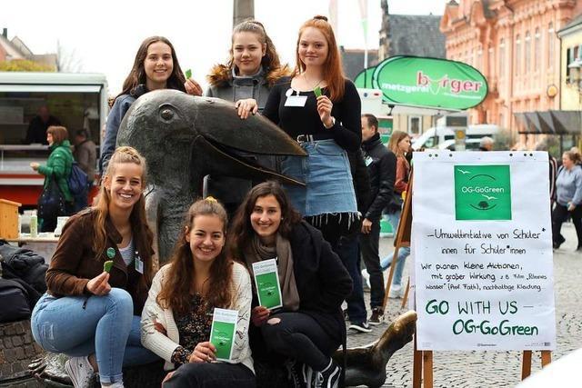 Parteilose Öko-Aktivistinnen für mehr Umweltbewusstsein
