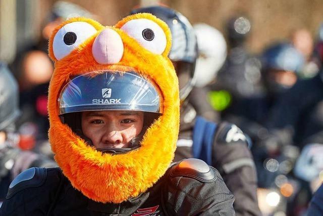 Polizei begleitet große Motorrad-Ausfahrt im Landkreis Lörrach