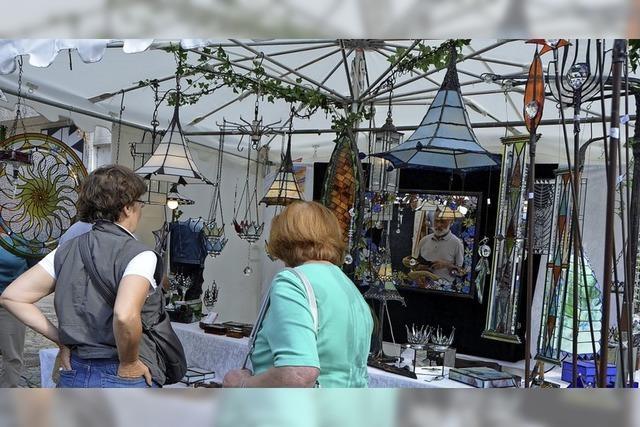 Künstlermarkt und Kleinkunstpreis in Emmendingen