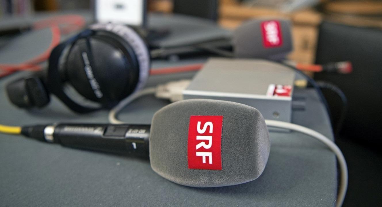 Die  Fernsehsender SRF1 und SRF2 könne...schland nicht mehr empfangen werden.    | Foto: dpa
