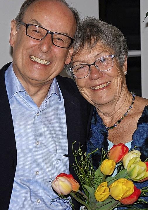 Vorsitzende Dr. Christa Häfner und  Ka...in wurden mit viel Lob verabschiedet.   | Foto: Hagen