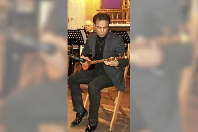 Harmonika-Orchester glänzt in Kirche