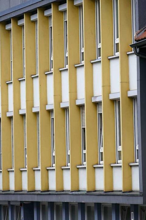 Die Fassade des Erich-Reisch-Hauses in der Lörracher Wallbrunnstraße 77  | Foto: Peter Gerigk