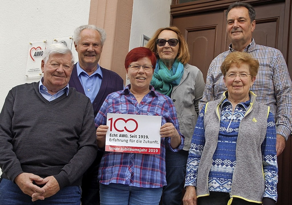 Vorstandsteam der AWO Minseln: Klaus S...t Wasmer, Gerlinde Hinz,  Klaus Weber     Foto: Wunderle