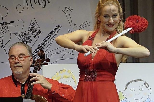 Eine herrlich schräge Opern-Show